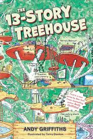 Book cover image for The 13-Story Treehouse